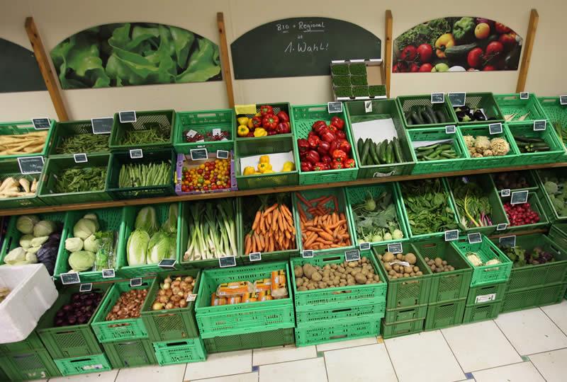 Hofladen Obst und Gemüse